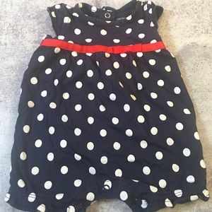 4th of July Summer Romper Infant Girl 3 months